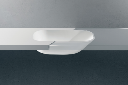 Lavabo professionale integrabile BER 6742 LAB
